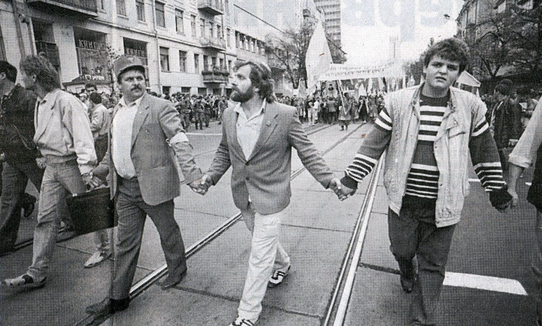 День Єдності 1990 року. Живий ланцюг