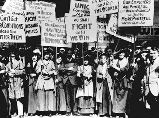 Учасниці протестів