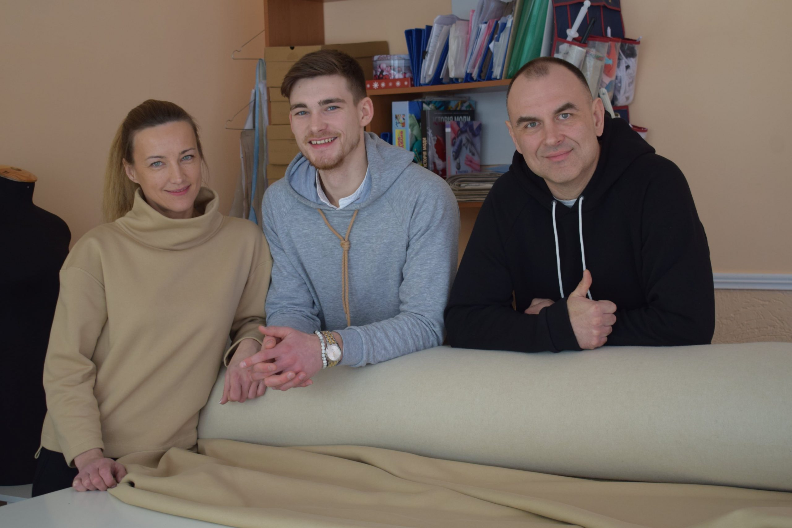 Тетяна, Роман та Євген
