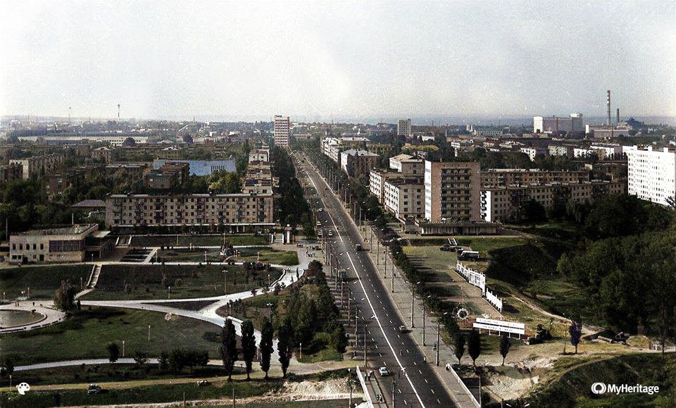 вид на проспект Шевченка