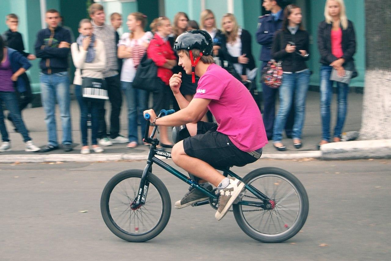 Павло Коваль, перший фестиваль. Фото: «Sumy Extreme Style»