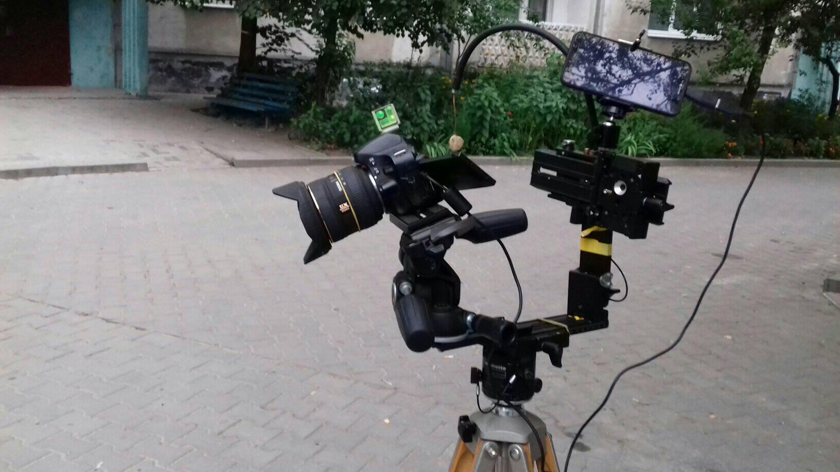 Обладнання для зйомки