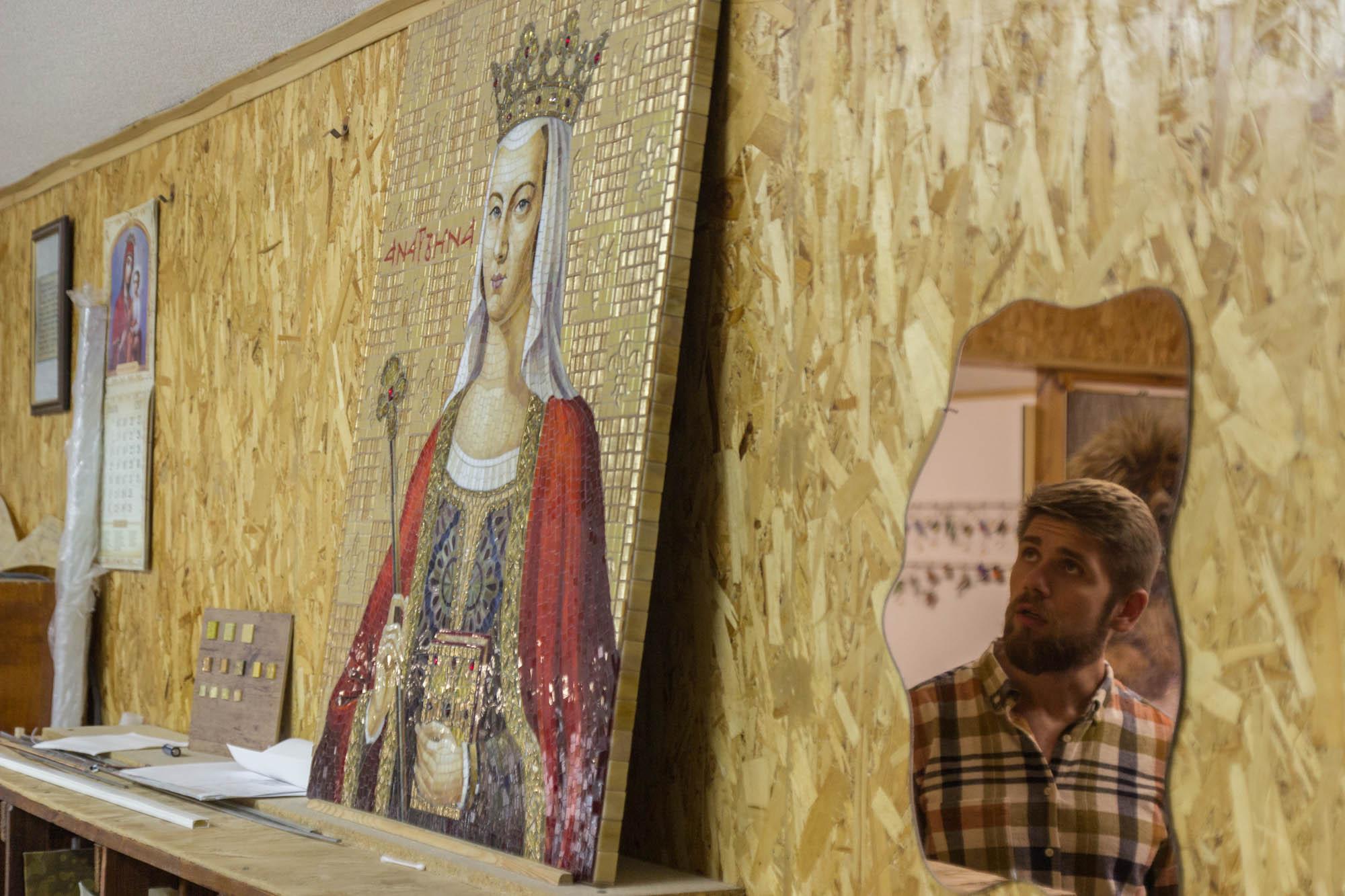 Мозаїка в Сумах