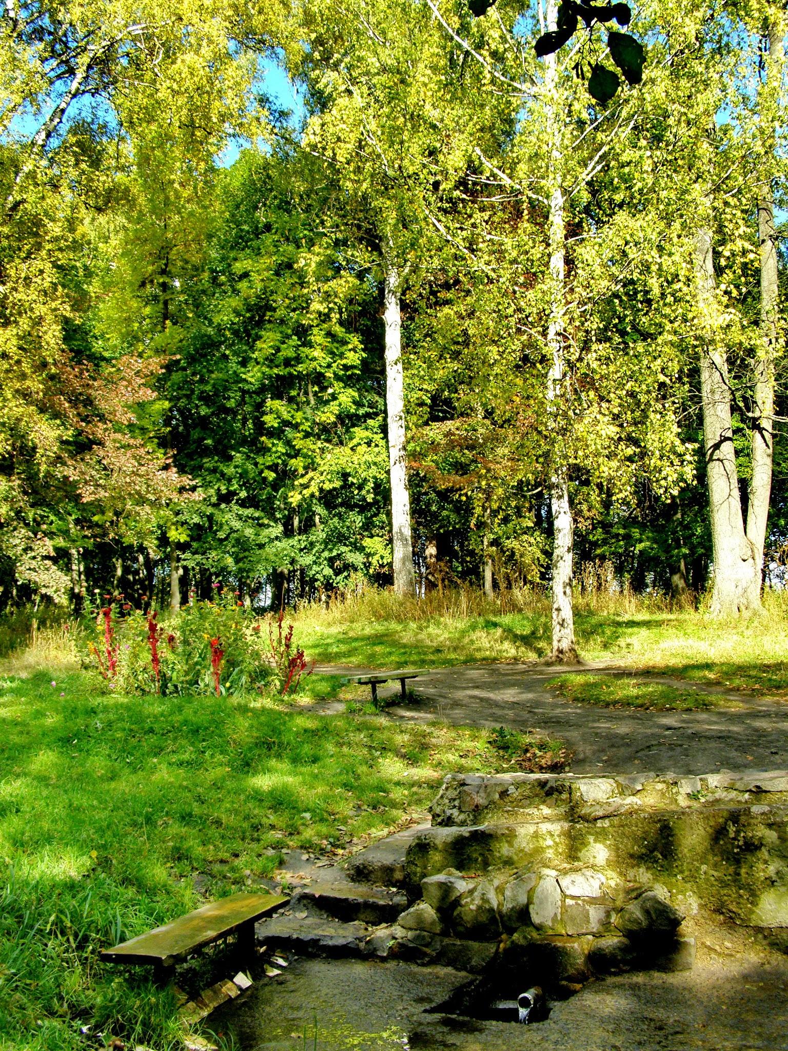 Криниця у Веретенівському парку. Фото: Myk Sadovyi