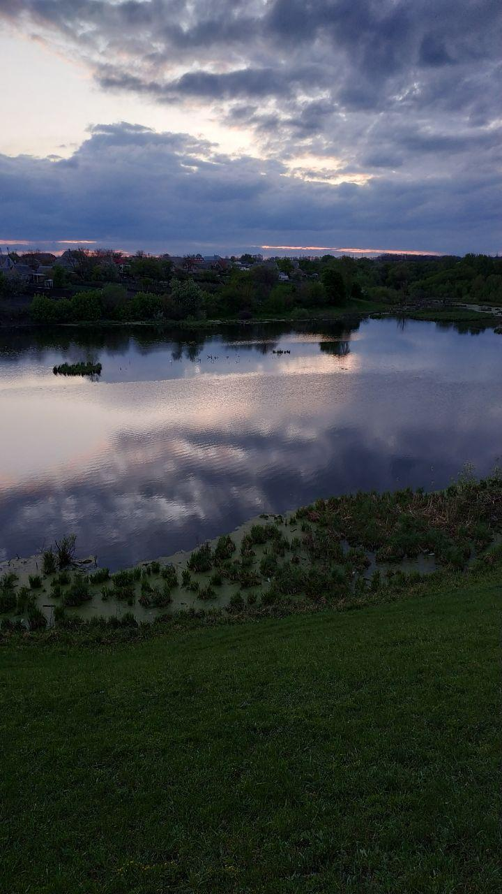 Під час заходу сонця. Фото: Цукр