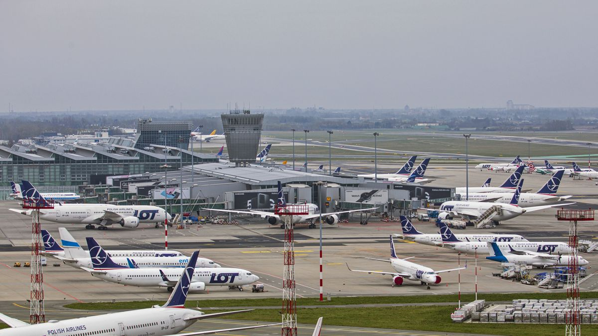 Аеропорт «Варшава-Шопен». Фото: D. Kłosiński