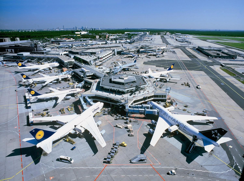 Аеропорт Франкфурту. Фото: Marusya