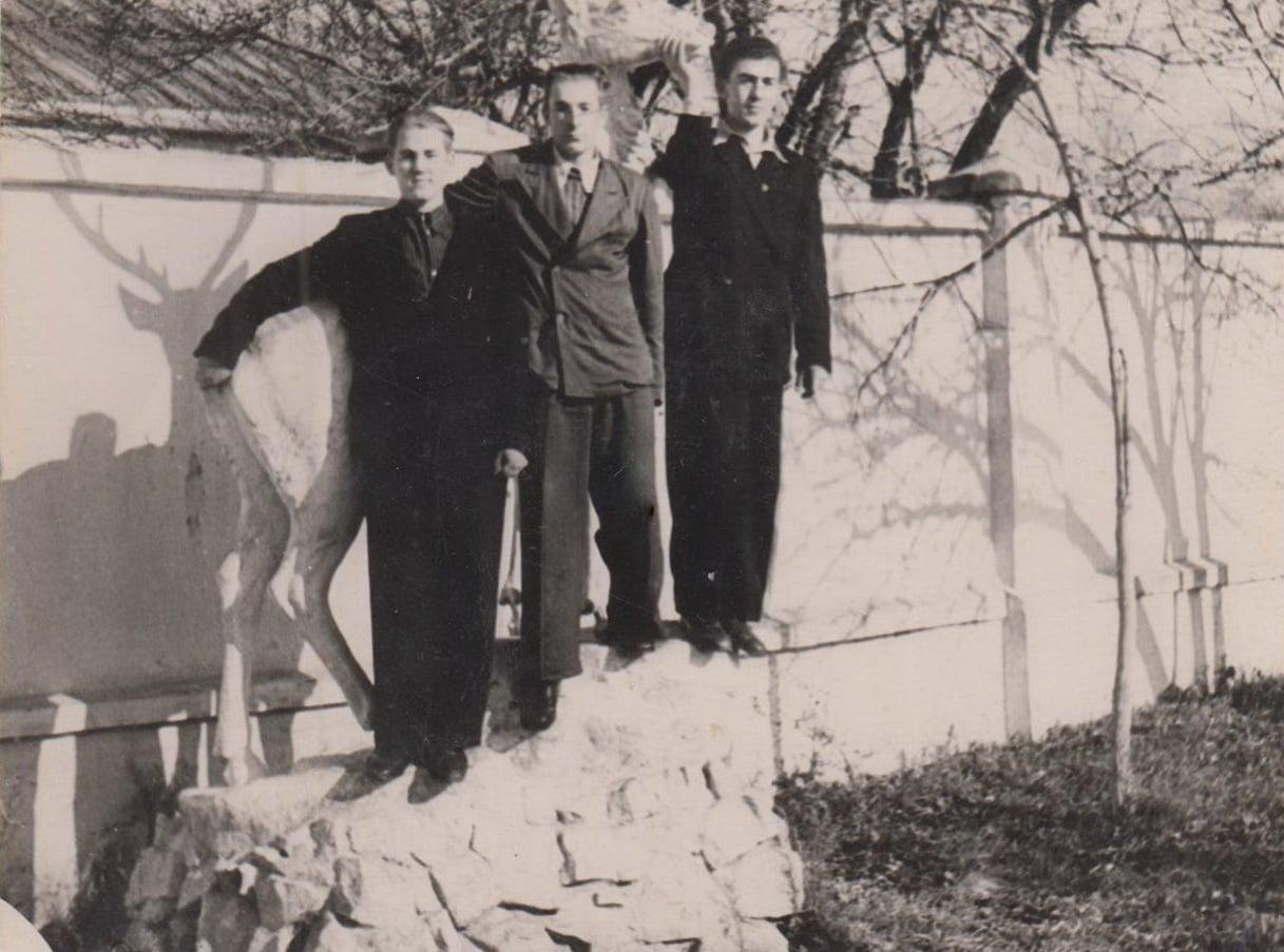 Паркан «Авангарду», 1958 рік. Фото: Андрій Мозговий