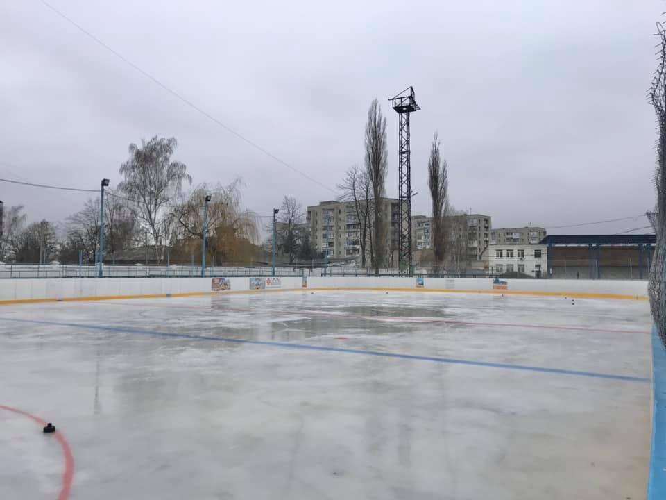 Хокейна «коробка», кінець листопада 2019 року. Фото: Erika Viktorivna