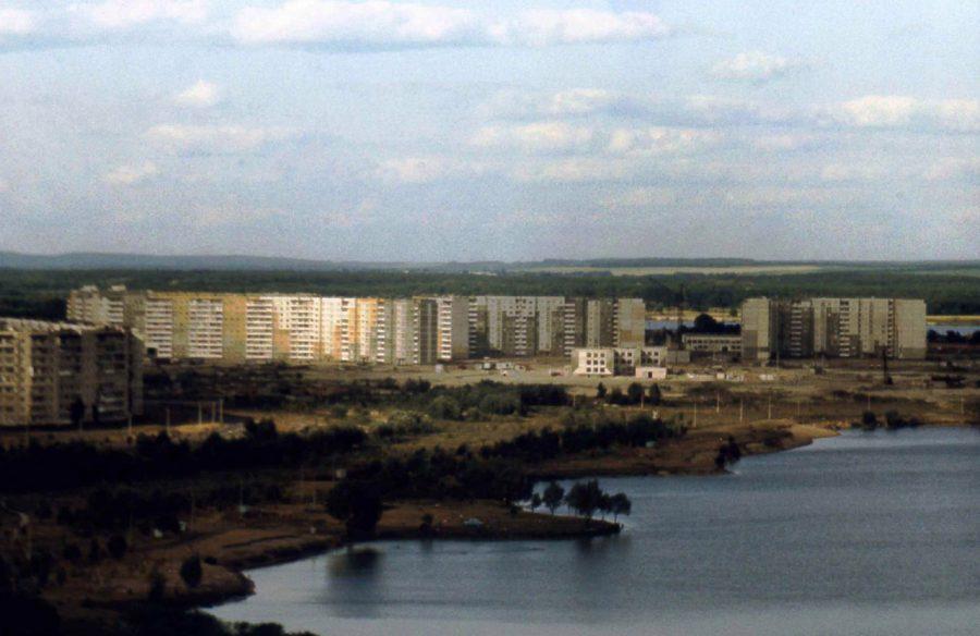 Дев'ятий мікрорайон, 80-ті роки. Фото: Євген Галан