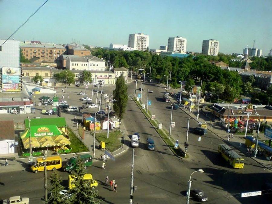 Універмаг «Київ», базарна площа, 2009 рік