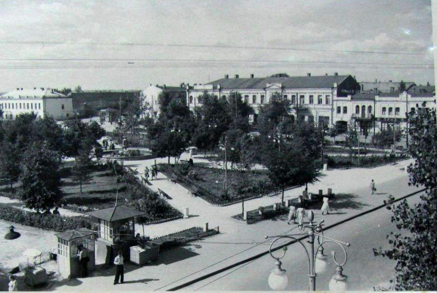 Червона площа, 1955 рік. Фото: з архіву групи «Мої Суми», facebook.com