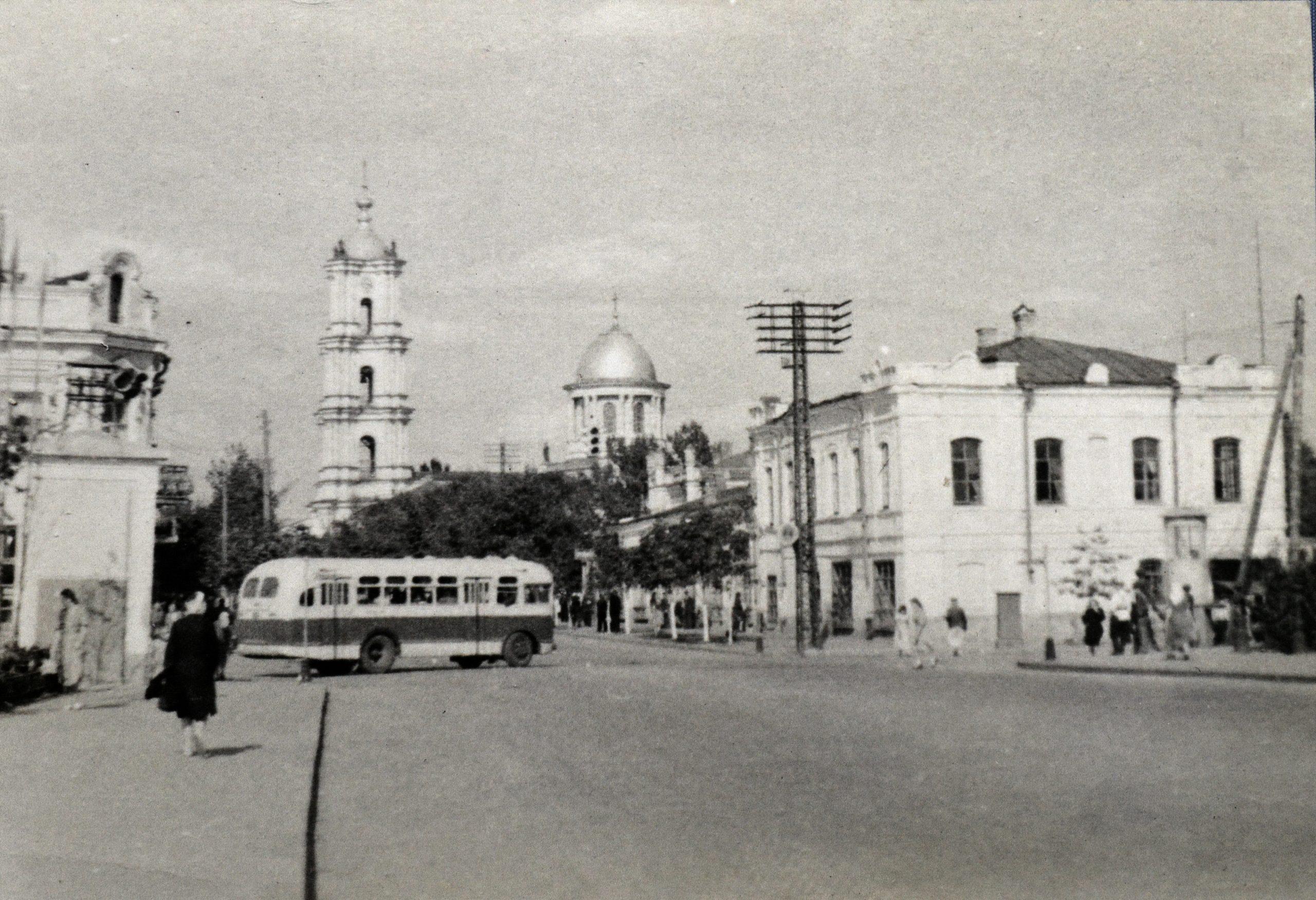 Червона площа, 1956 рік. Фото: з архіву групи «Мої Суми», facebook.com
