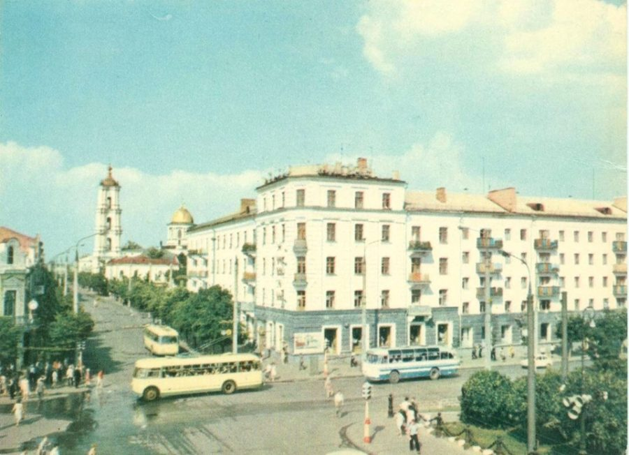 Червона площа, 1968 рік. Фото: з архіву групи «Мої Суми», facebook.com