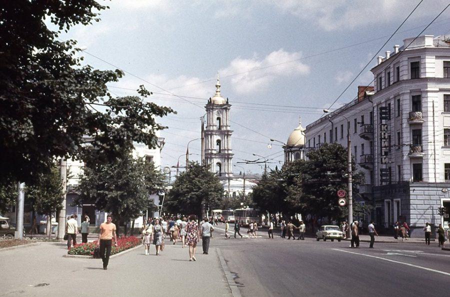Червона площа,  1973 рік. Фото: з сімейного архіву Бориса Зобіна
