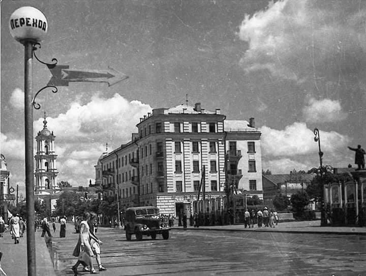 Червона площа, початок 60-х років. Фото: з архіву групи «Мої Суми», facebook.com