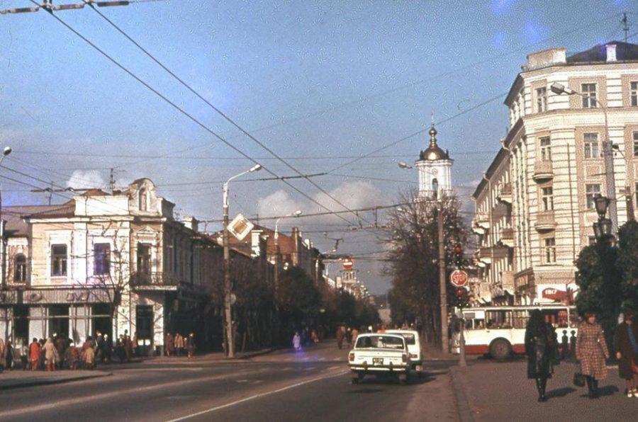 Вулиці Покровська і Соборна