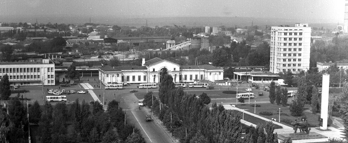 Вулиця Привокзальна. Фото: архітектора Юрія Смолярова