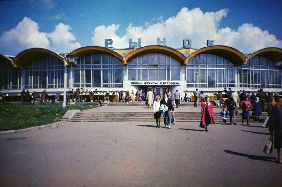 Ринок, початок 90-х років. Фото: Володимир Семерня