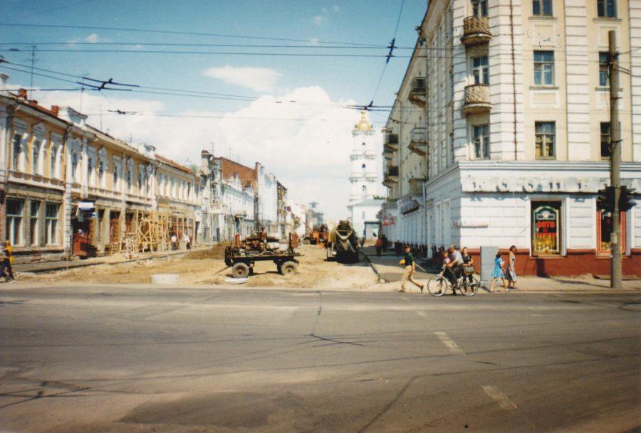 Вулиця Соборна, літо 1999 року. Фото: А. Бондаренко