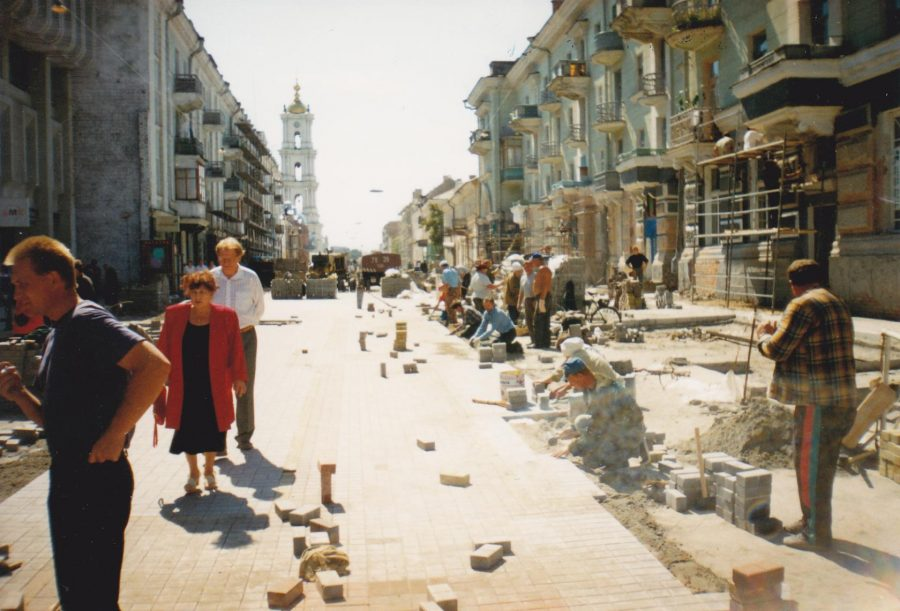 Вулиця Соборна, літо 1999 року. Фото: Анатолій Бондаренко