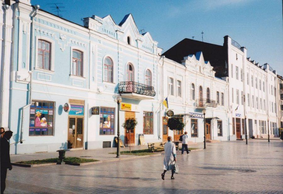 Вулиця Соборна, початок 2000-х років. Фото: Микола Михайліченко