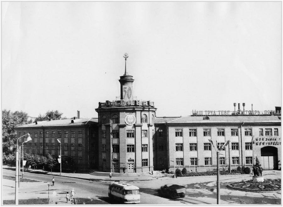 Завод імені Фрунзе, 1967 рік. Фото: з архіву групи «Мої Суми», facebook.com