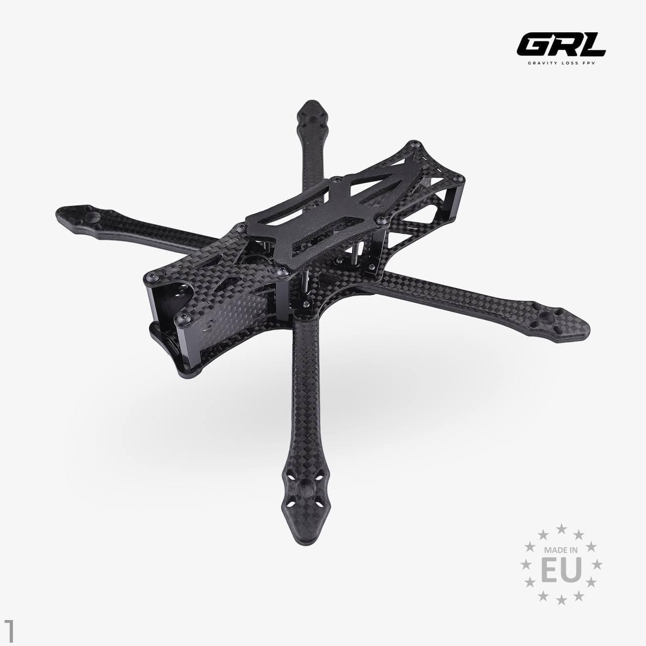 Корпус дрону зроблений власноруч з карбону