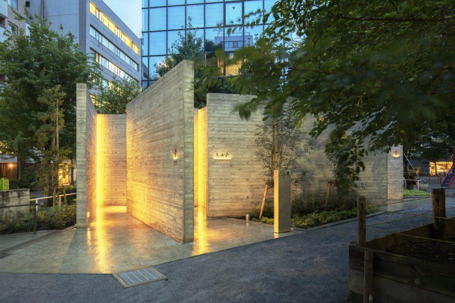 Фото: Громадська вбиральня в Японії,  Satoshi Nagare