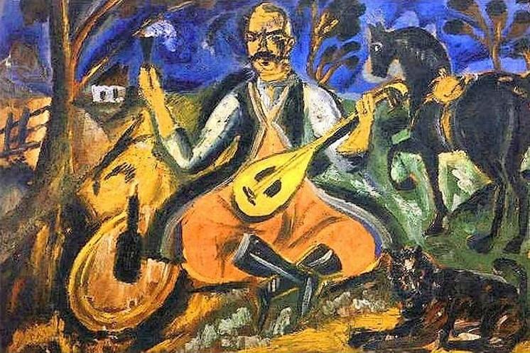 «Козак Мамай» (1912). Джерело: iprosvita.com