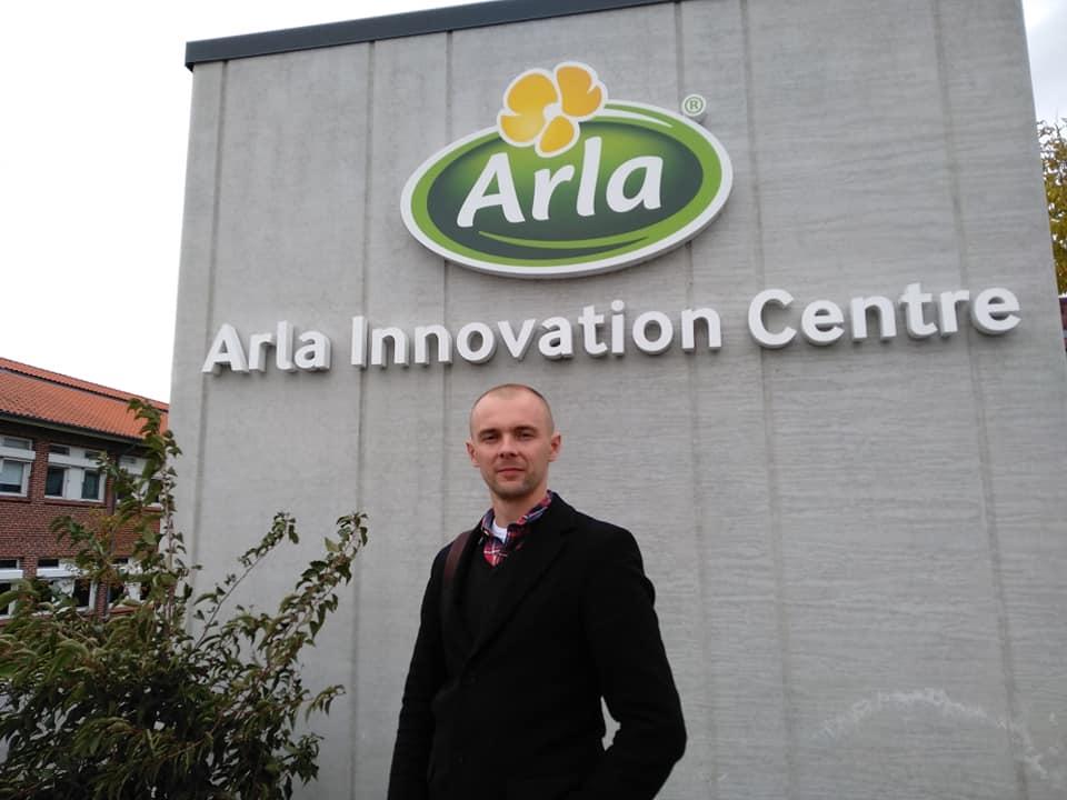 Презентація проекту у датсько-шведській компанії Arla Foods